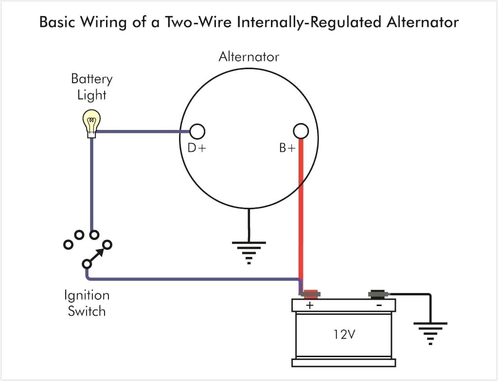 1 Wire Alternator Diagram Mack Alternator Wiring Wiring Diagram Mega