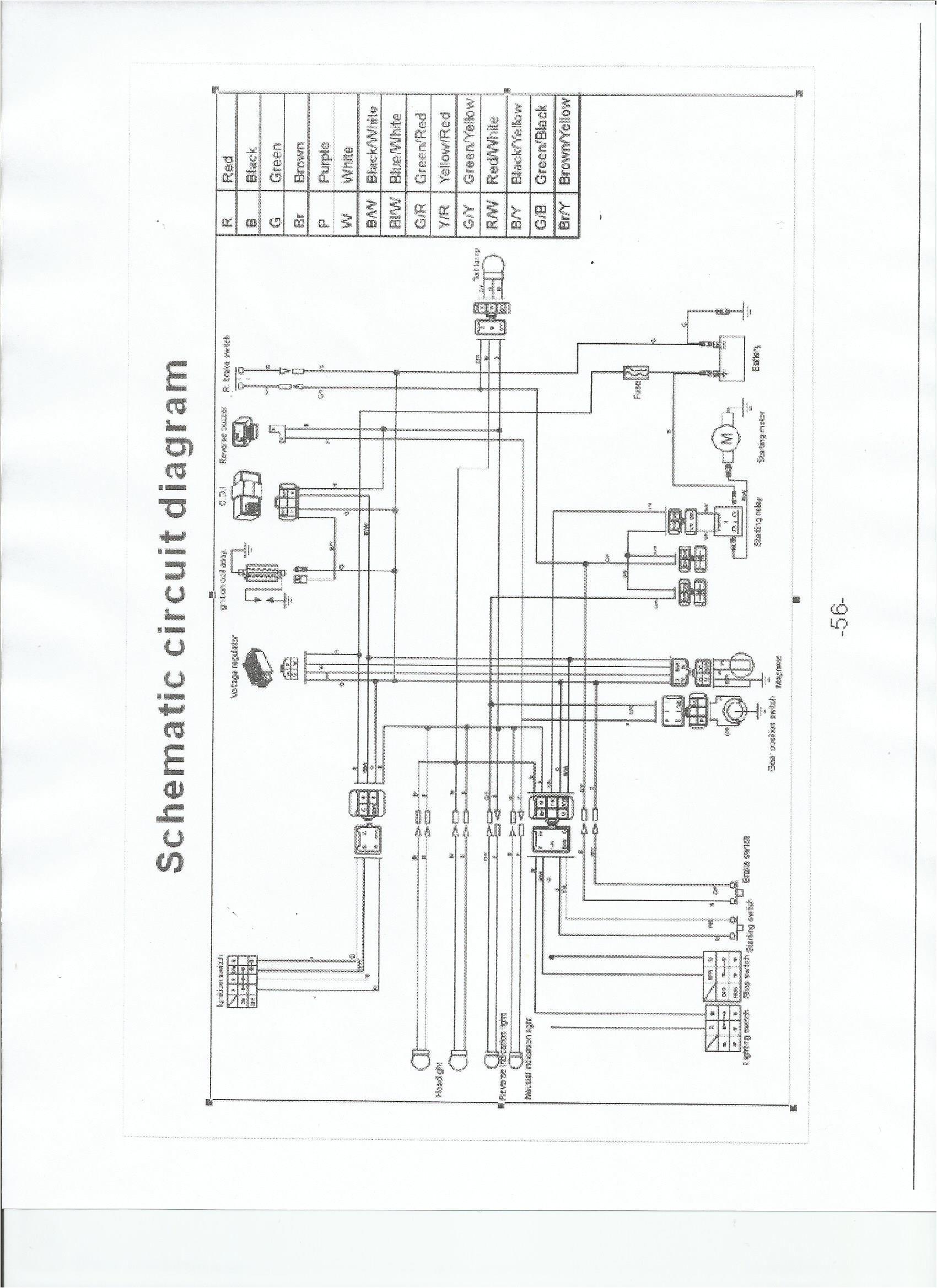 qiye 110cc chopper wiring diagram wiring diagram centre 110 mini chopper wiring diagram