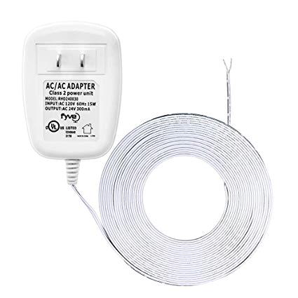 24 volt transformer c wire power adapter for ecobee nest honeywell emerson sensi