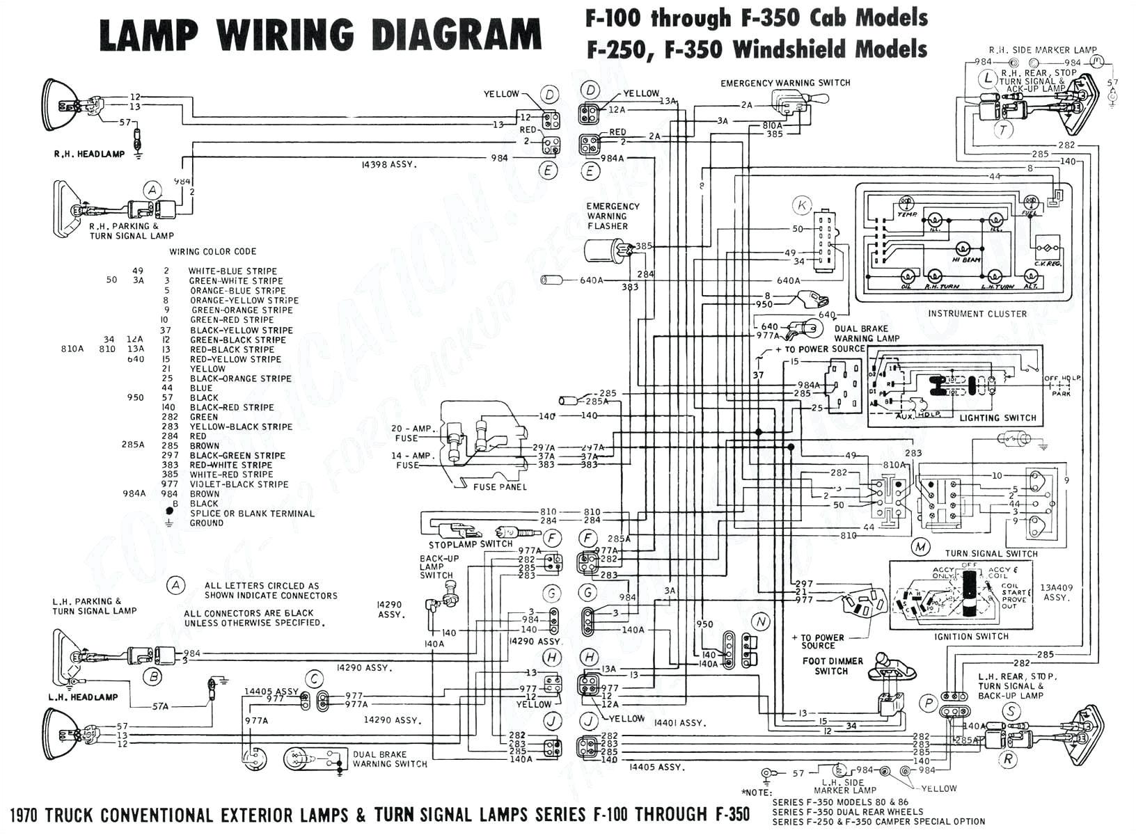 chevy starter motor wiring