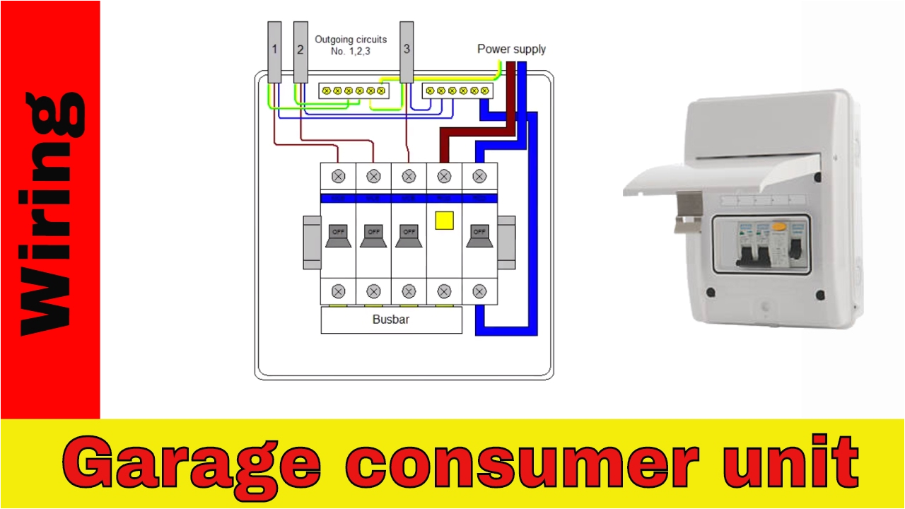how to wire rcd in garage shed consumer unit uk consumer unit wiring diagram for garage door opener sensors wiring diagram for garage