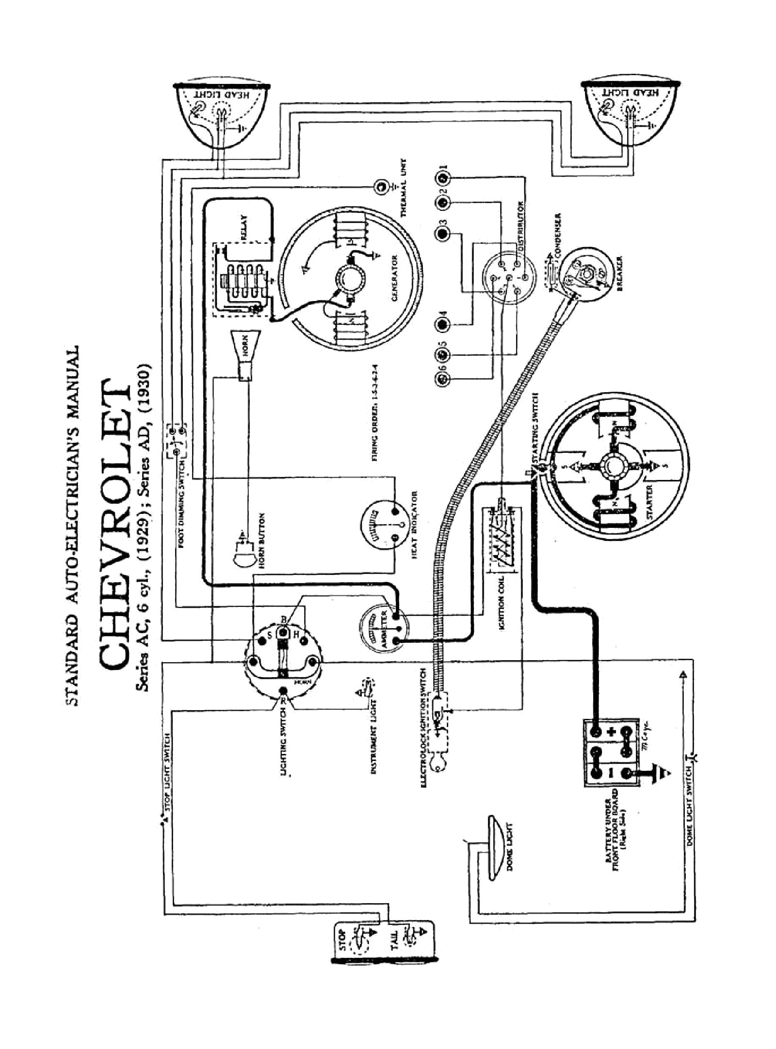 1930 series ad model 1931 1931 wiring diagrams