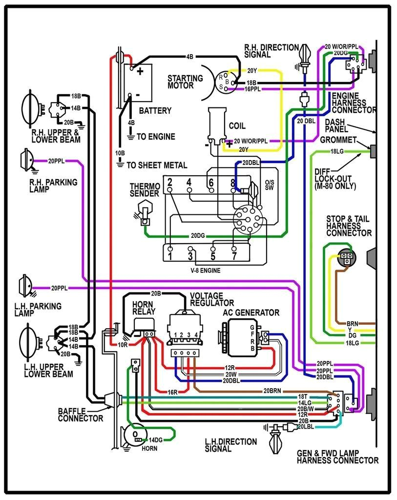 1962 chevy truck wiring diagram t cnica camionetas clasicas1962 chevy truck wiring diagram
