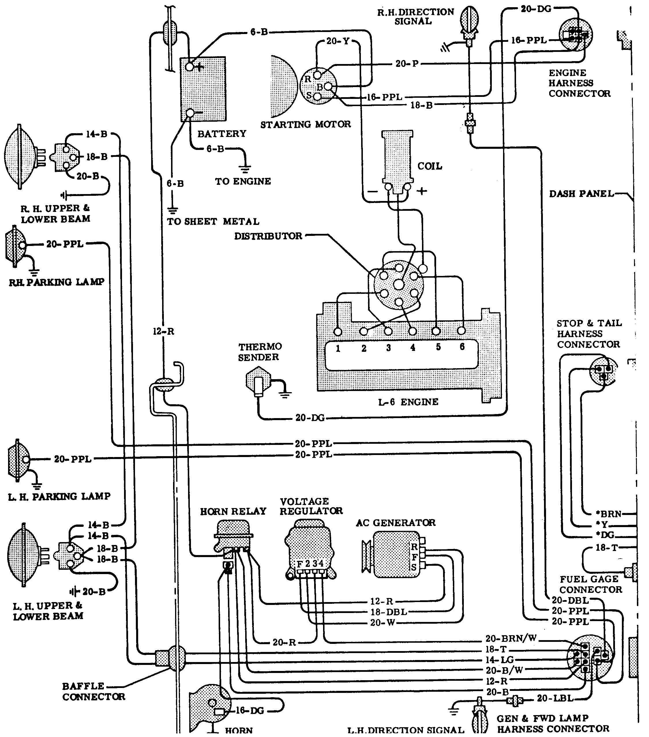 66 6 cylinder gm wiring harness diagram wiring diagram expert 66 gm wiring harness diagram wiring