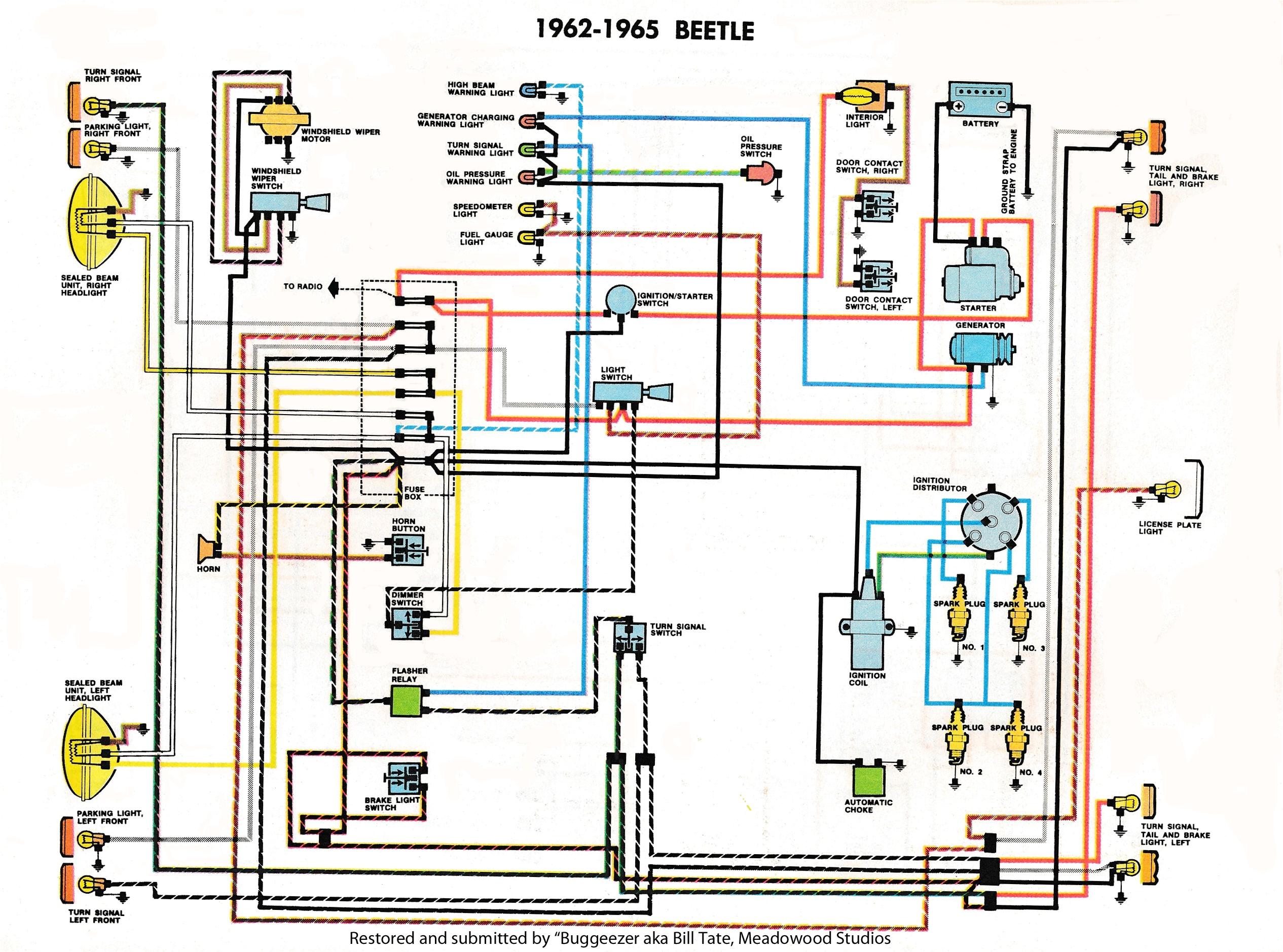1973 vw bus radio wiring wiring diagrams wni 73 vw beetle radio wiring