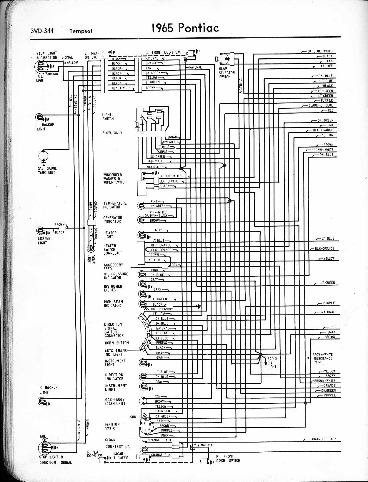 1968 cougar wiring diagram manual save 67 gto light wire of 1967