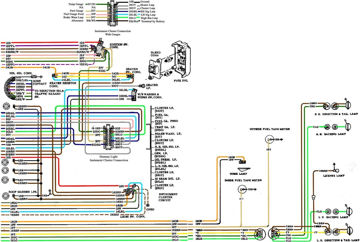 1971 Chevy C10 Wiring Diagram 1971 C10 Wiring Diagram Wiring Diagram today