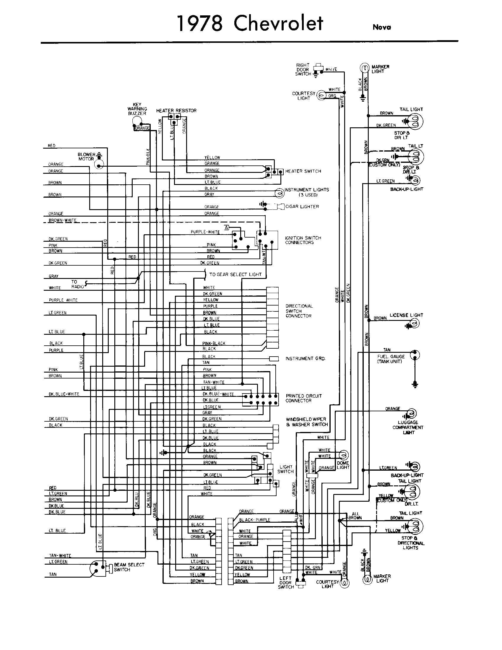 1978 chevy turn signal wiring diagram wiring diagrams favorites