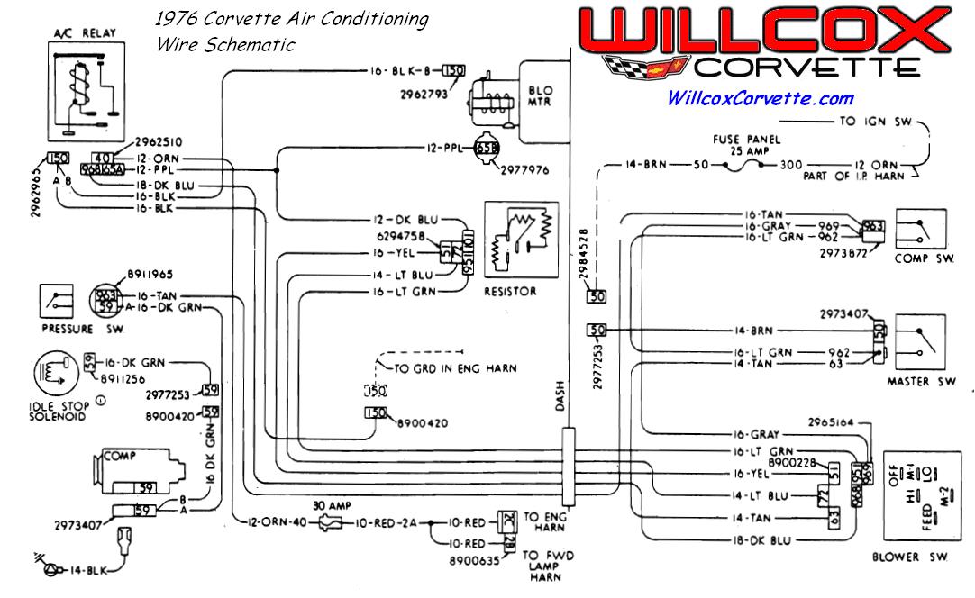 1972 Corvette Wiring Diagram 1976 Corvette Suspension Diagram Wiring Schematic Wiring Diagrams
