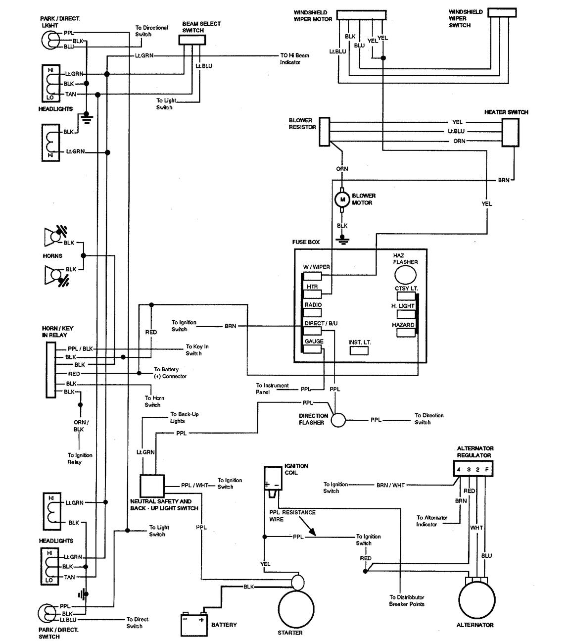 1972 Corvette Wiring Diagram 72 Corvette Wiring Diagram Wiring Diagram Basic