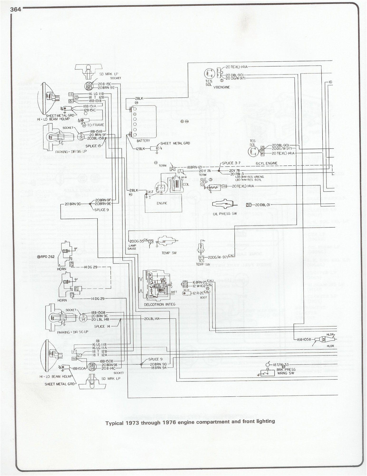 1974 Chevy Pickup Wiring Diagram 73 Chevy Wiring Diagram Wiring Diagram Technic