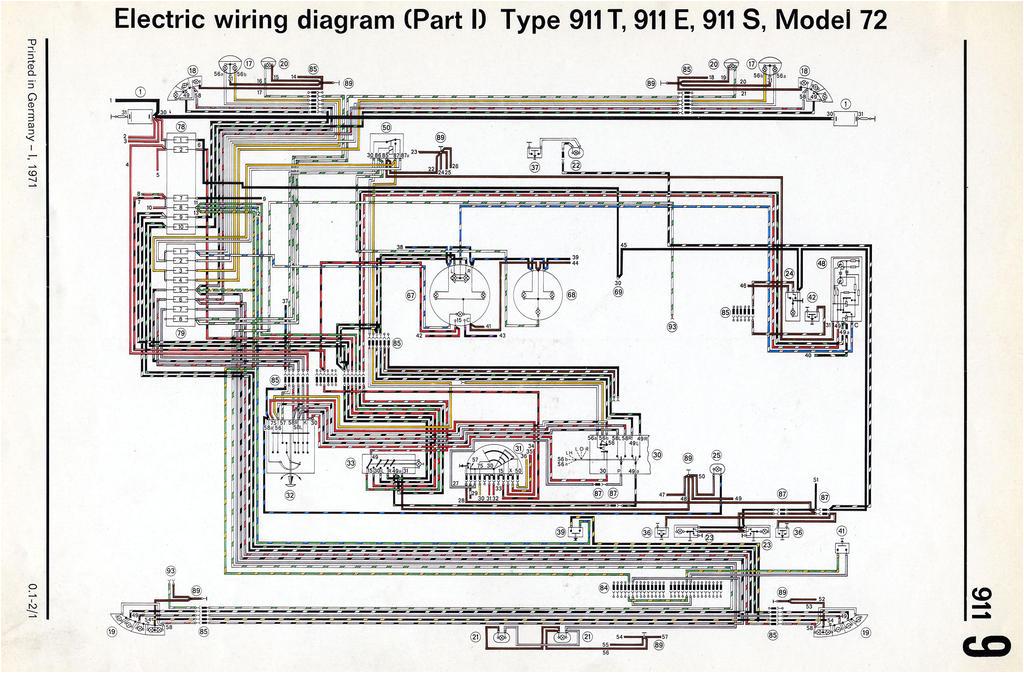 porsche 911 wiring diagrams wiring diagram technicporsche 911 distributor wiring wiring diagram expert1989 porsche 911 wiring