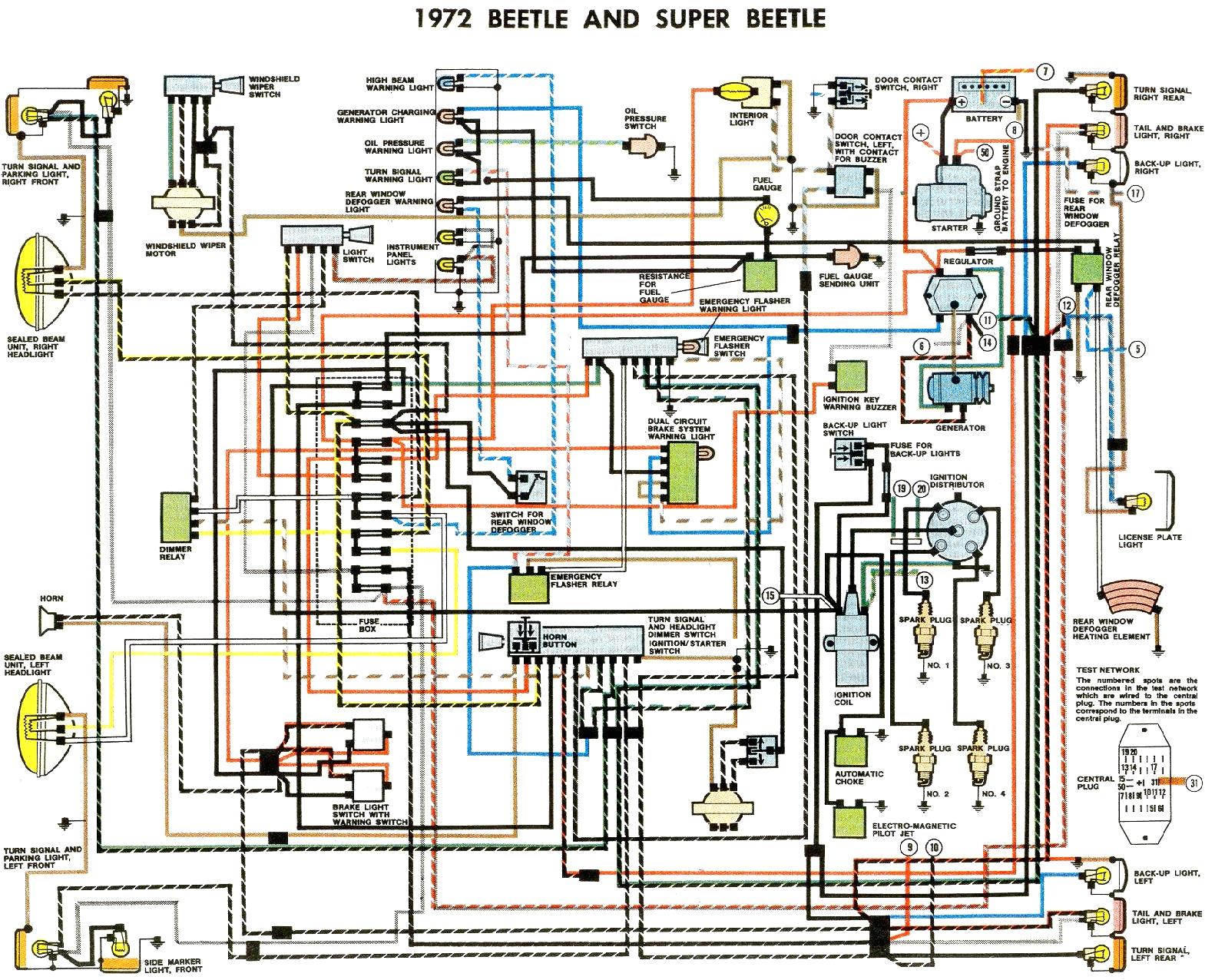 73 beetle wiring diagram wiring diagram centre vw