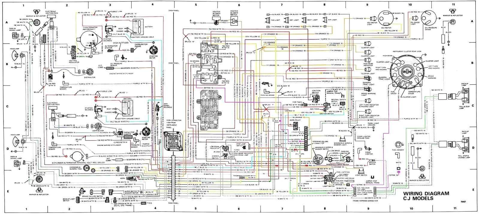 wiring harness for 1969 jeep cj5 wiring diagram for you 1969 jeep gladiator wiring diagram 1969 jeep wiring diagram