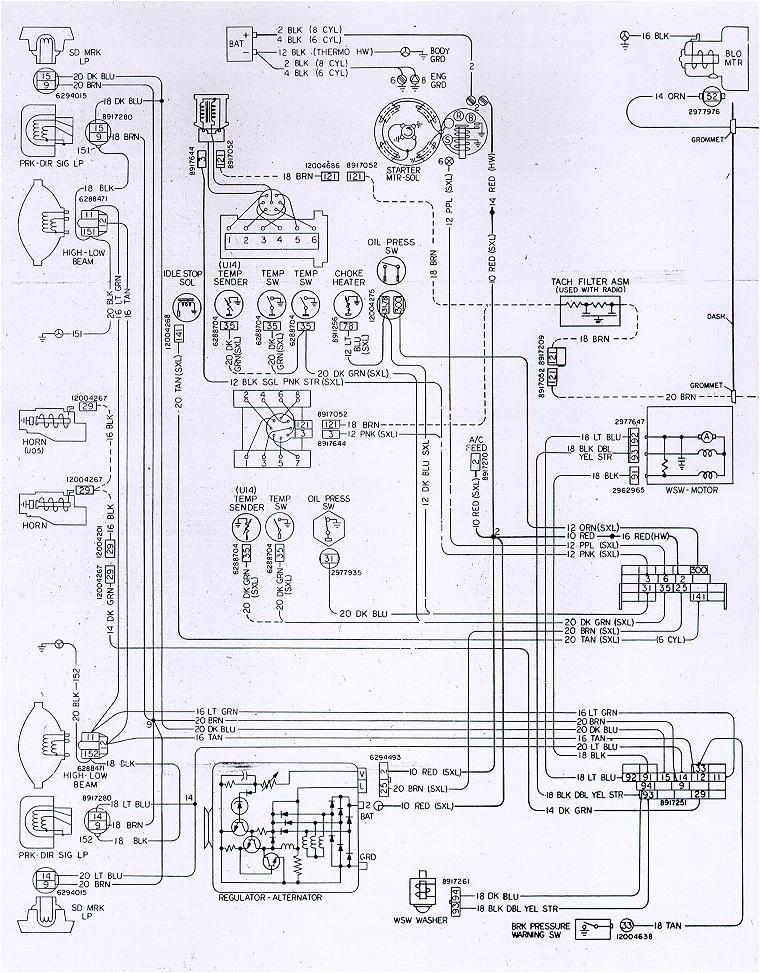 1980 camaro wiring schematic