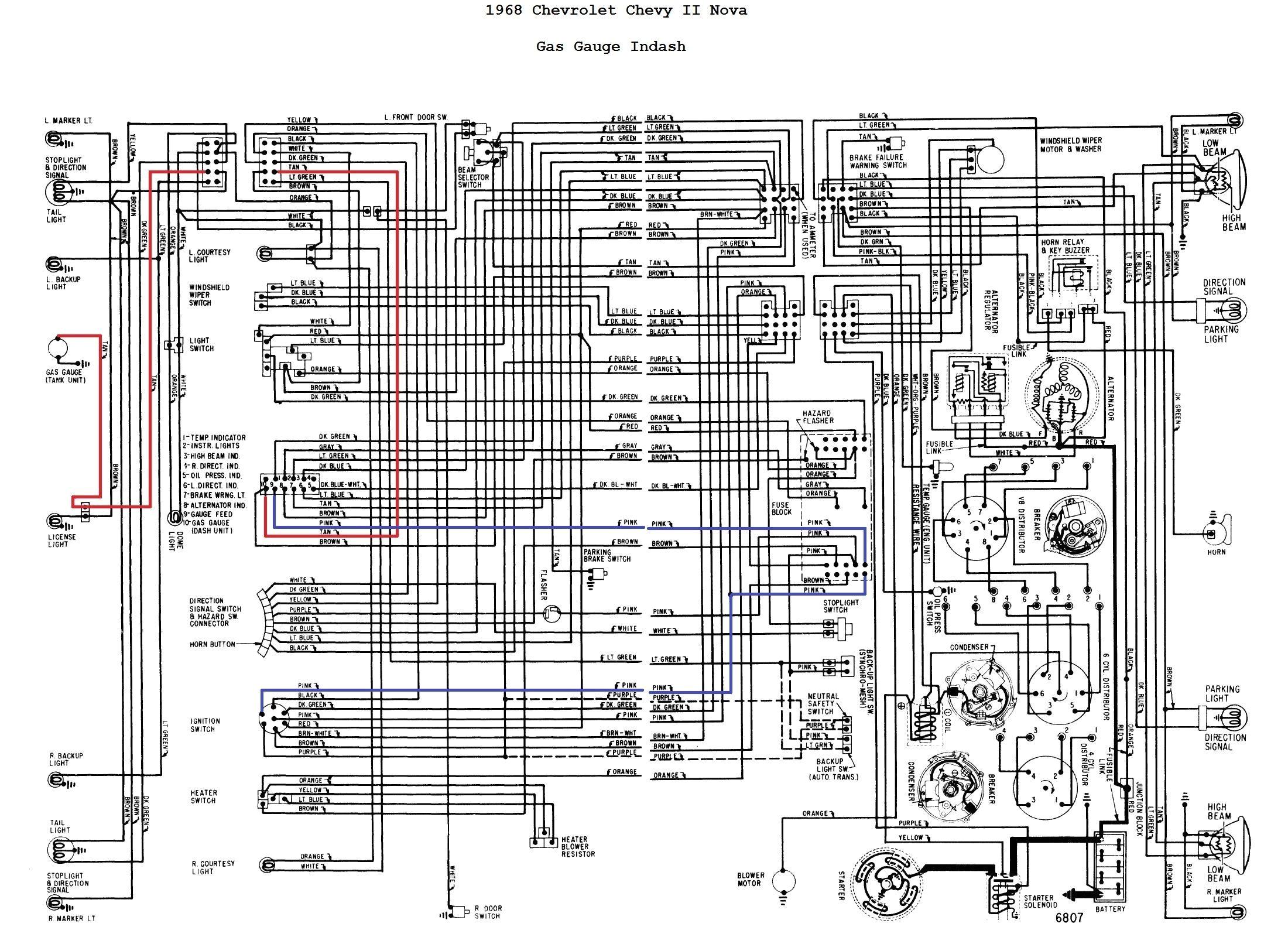 1968 camaro tachometer wiring electrical wiring diagram