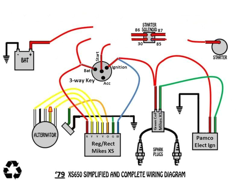 79 xs650 wiring diagram wiring diagram datasource 1979 xs650 custom wiring yamaha xs650 forum 79 xs650