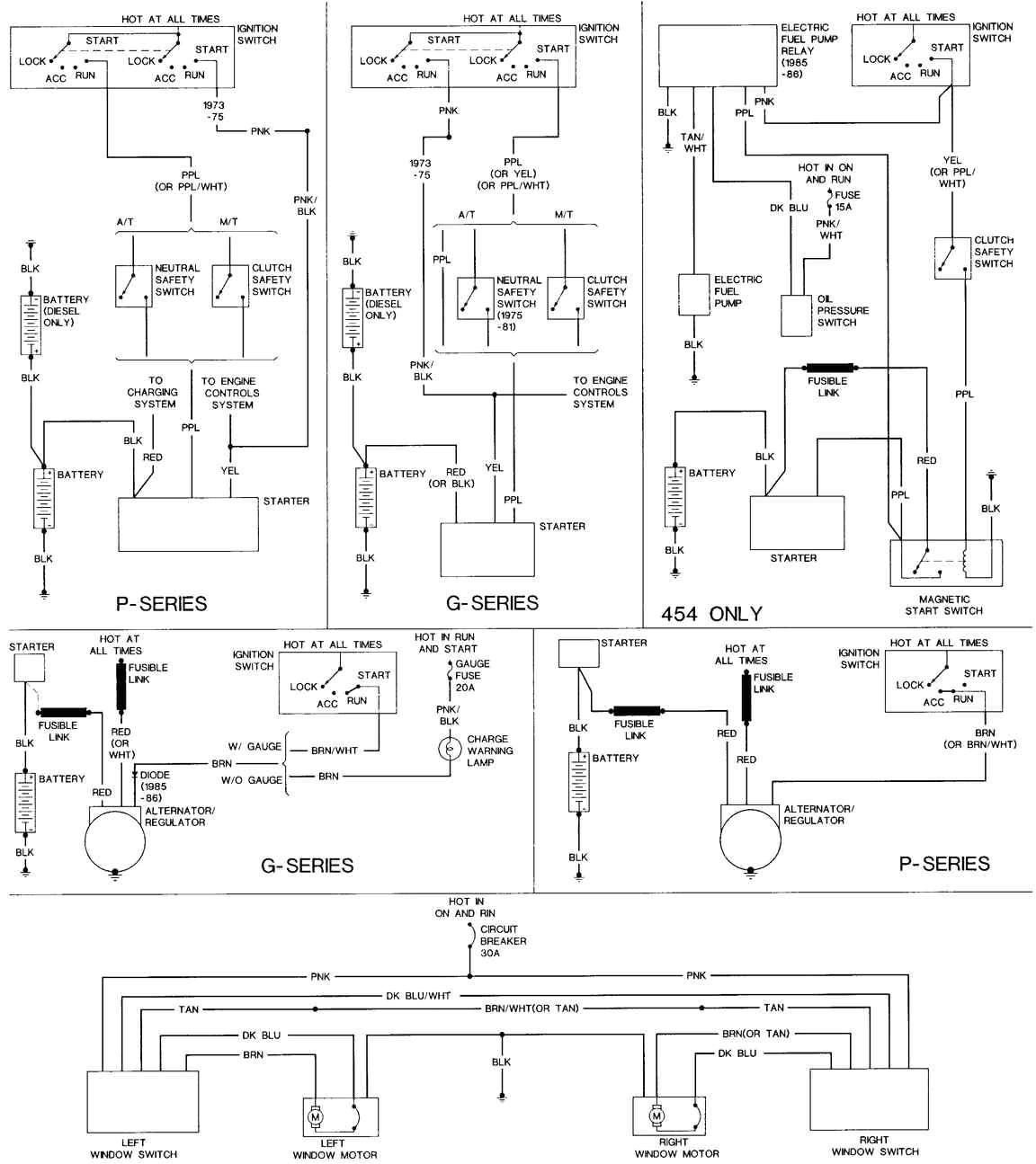 1980 gm steering column wiring diagram