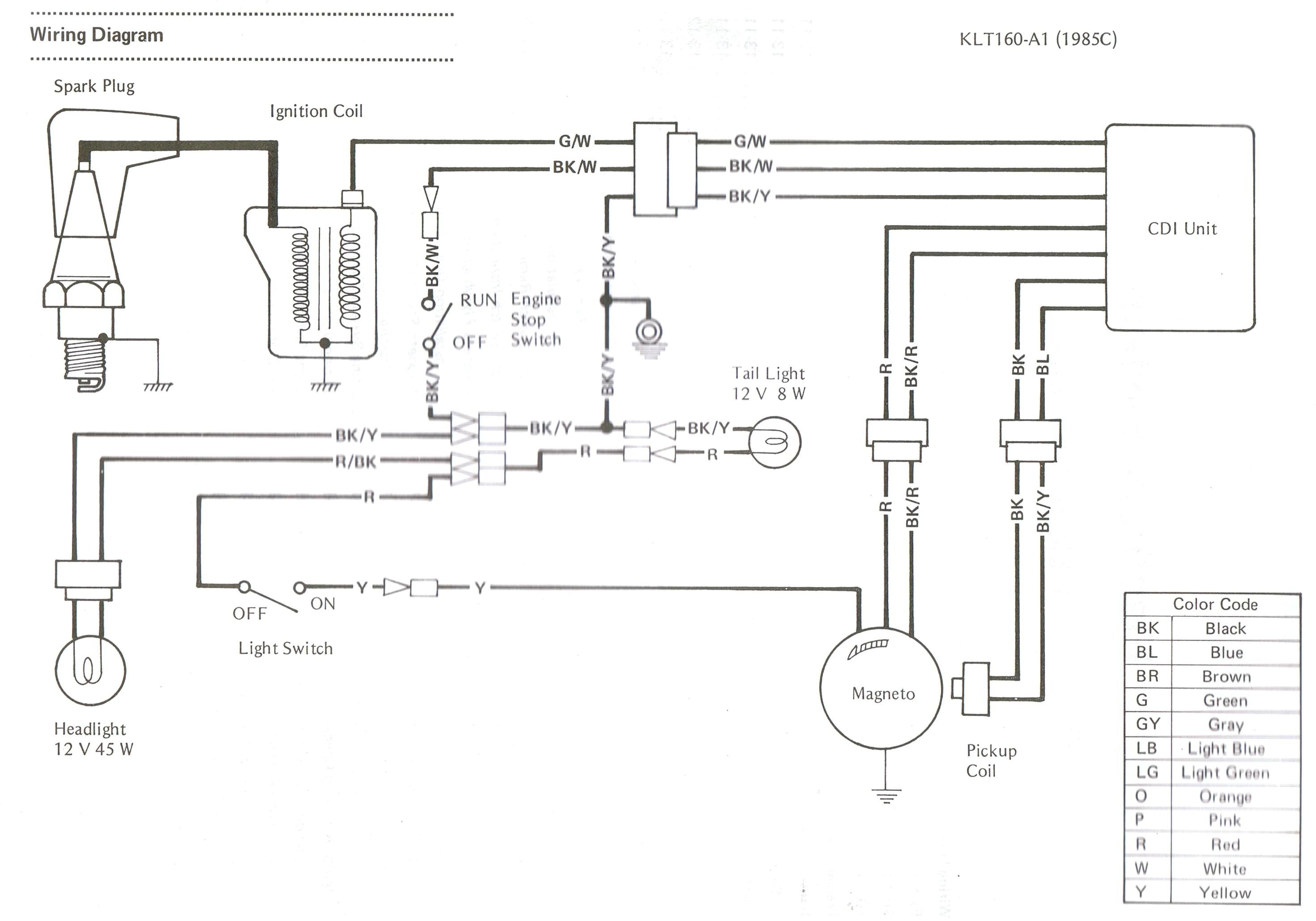 kawasaki bayou 220 wiring harness diagram wiring diagram ame