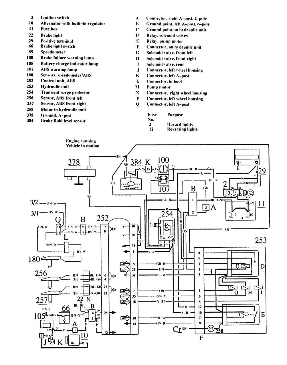 volvo 240 ignition wiring house wiring diagram symbols u2022 1993 volvo 240 radio wiring volvo