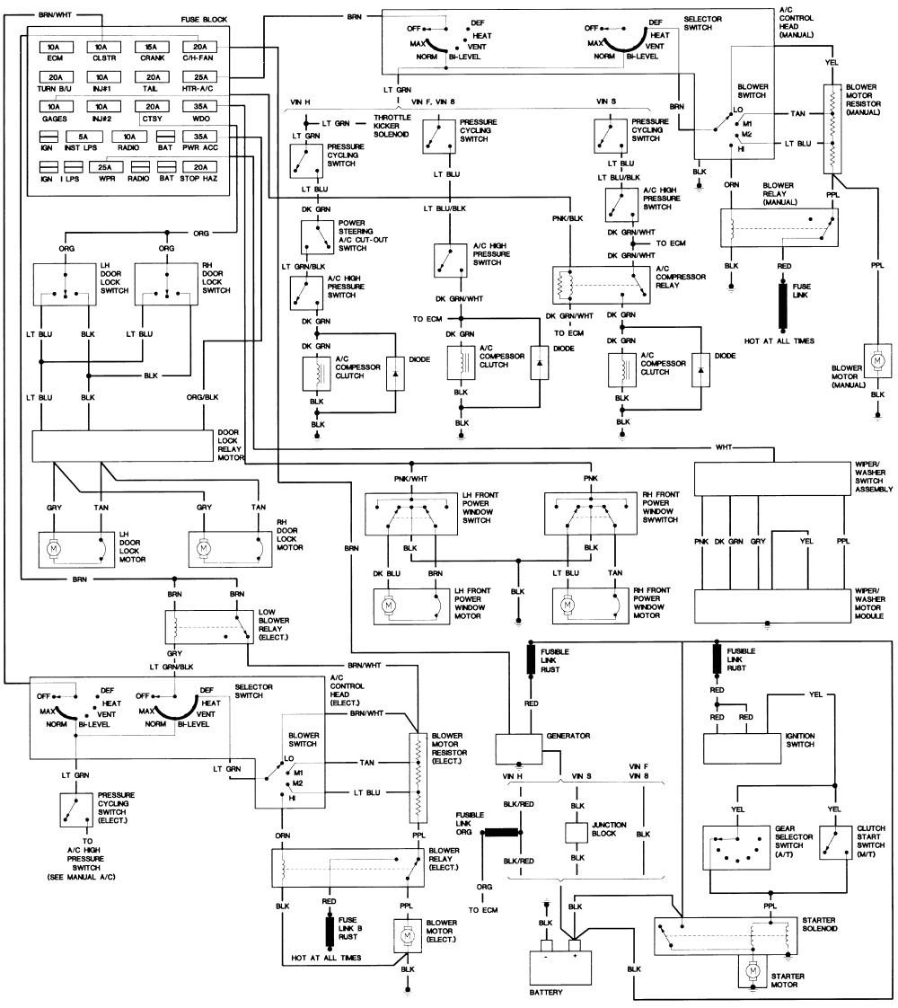 83 camaro wiring diagram