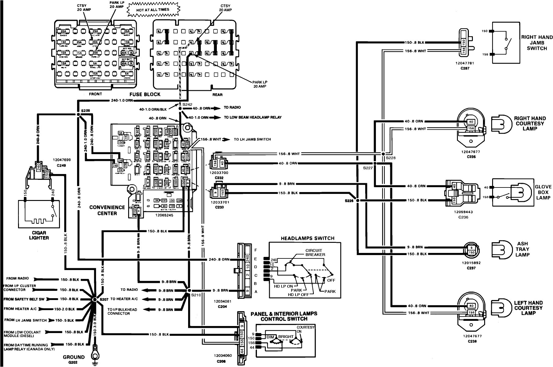 86 chevy headlight wiring diagram wiring diagram automotive diagrams archives page 159 of 301 automotive wiring