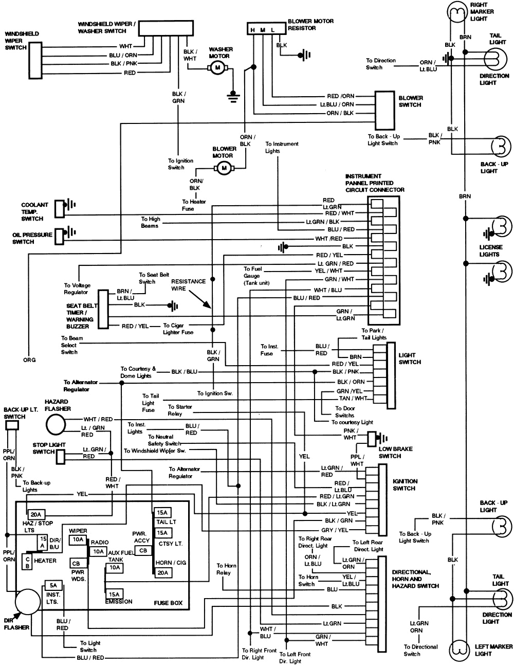 1986 ford F150 Wiring Diagram 1986 ford Truck Wiring F250 Wiring Diagram Blog