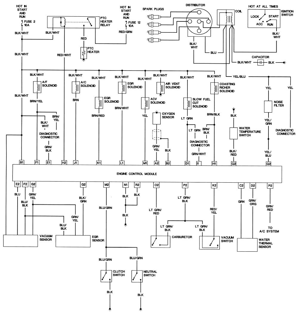 repair guides wiring diagrams wiring diagrams autozone commazda b2200 wiring diagram 2