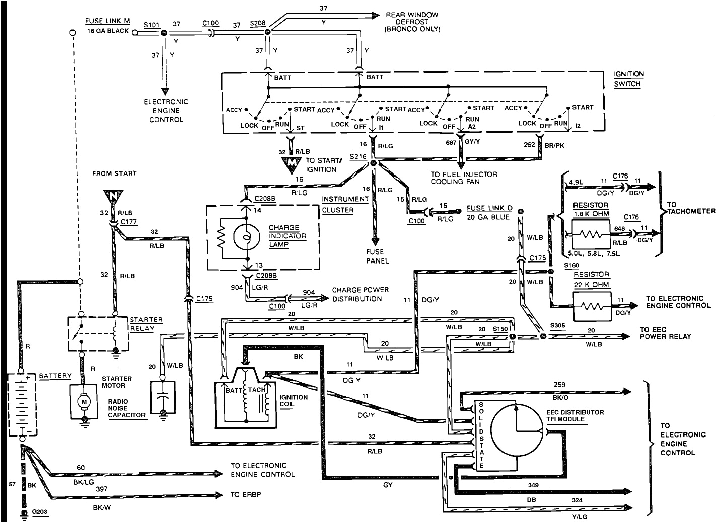 ford ignition schematic wiring diagram name 1985 f150 ignition module wiring schematic
