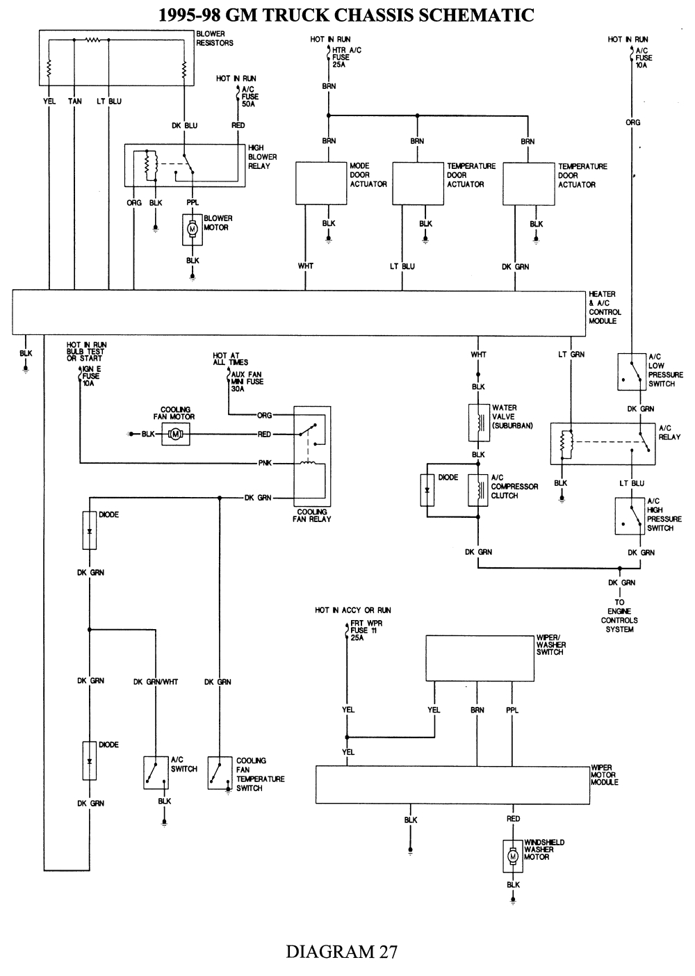1988 Chevy Truck Wiring Diagram Repair Guides Wiring Diagrams Wiring Diagrams Autozone Com