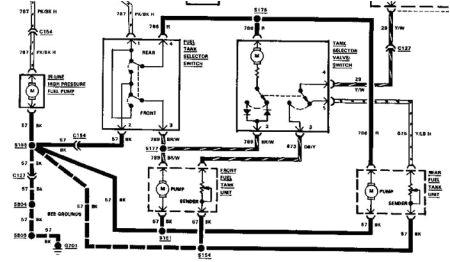 1989 ford f 250 fuel system diagram wiring diagram inside 1990 ford f350 fuel system diagram