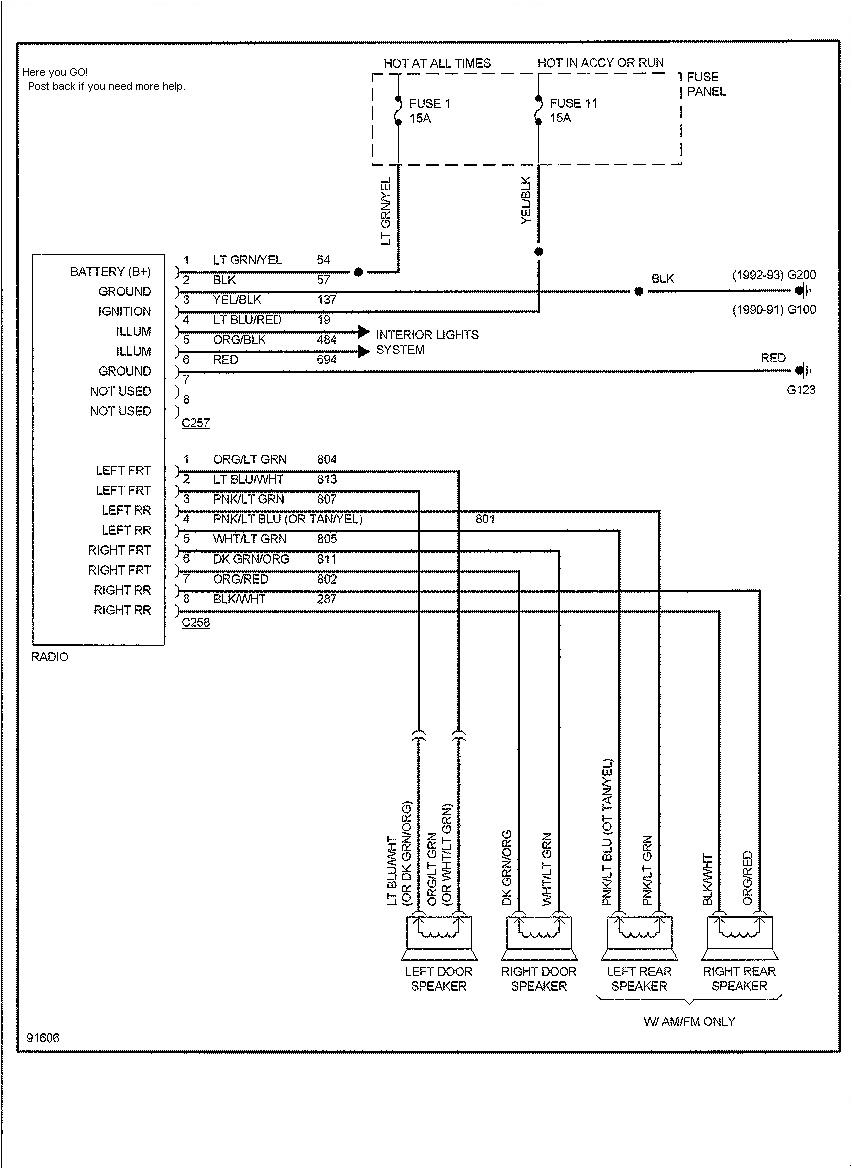 1990 f350 wiring diagram wiring diagram paper