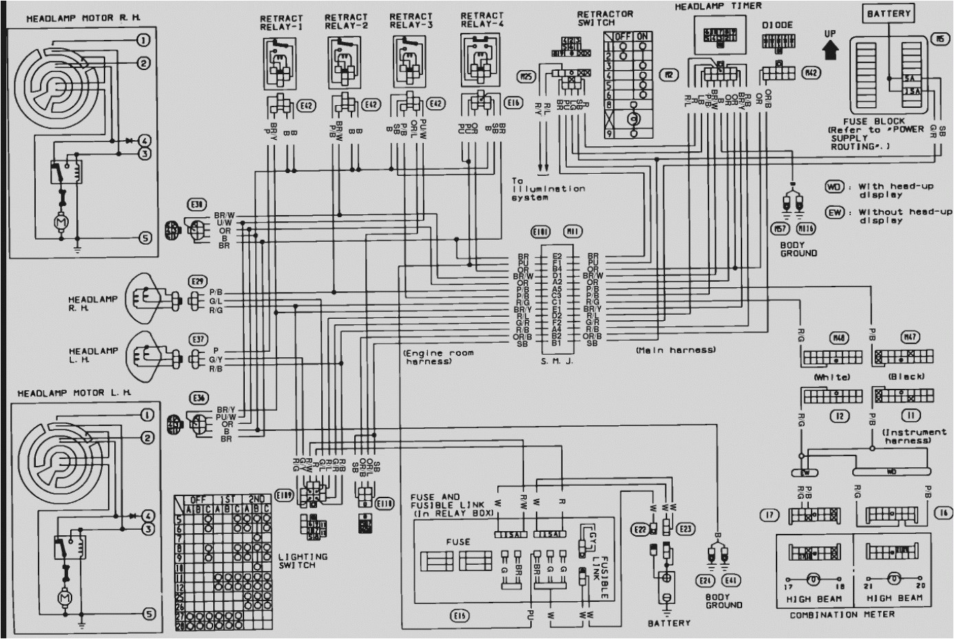 91 nissan 240sx wiring diagram wiring diagram host 91 nissan 240sx wiring diagrams free download diagram