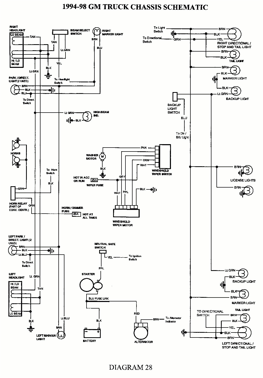 1992 chevy wiring diagram wiring diagram paper