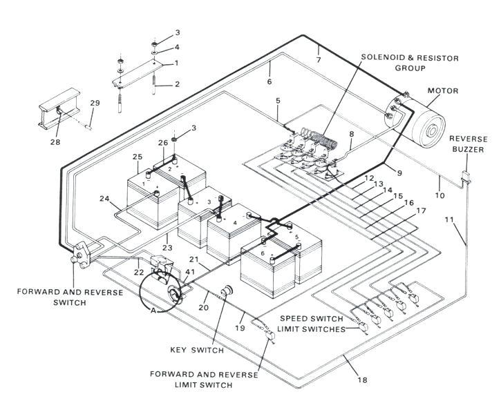 1993 club car golf cart wiring diagram