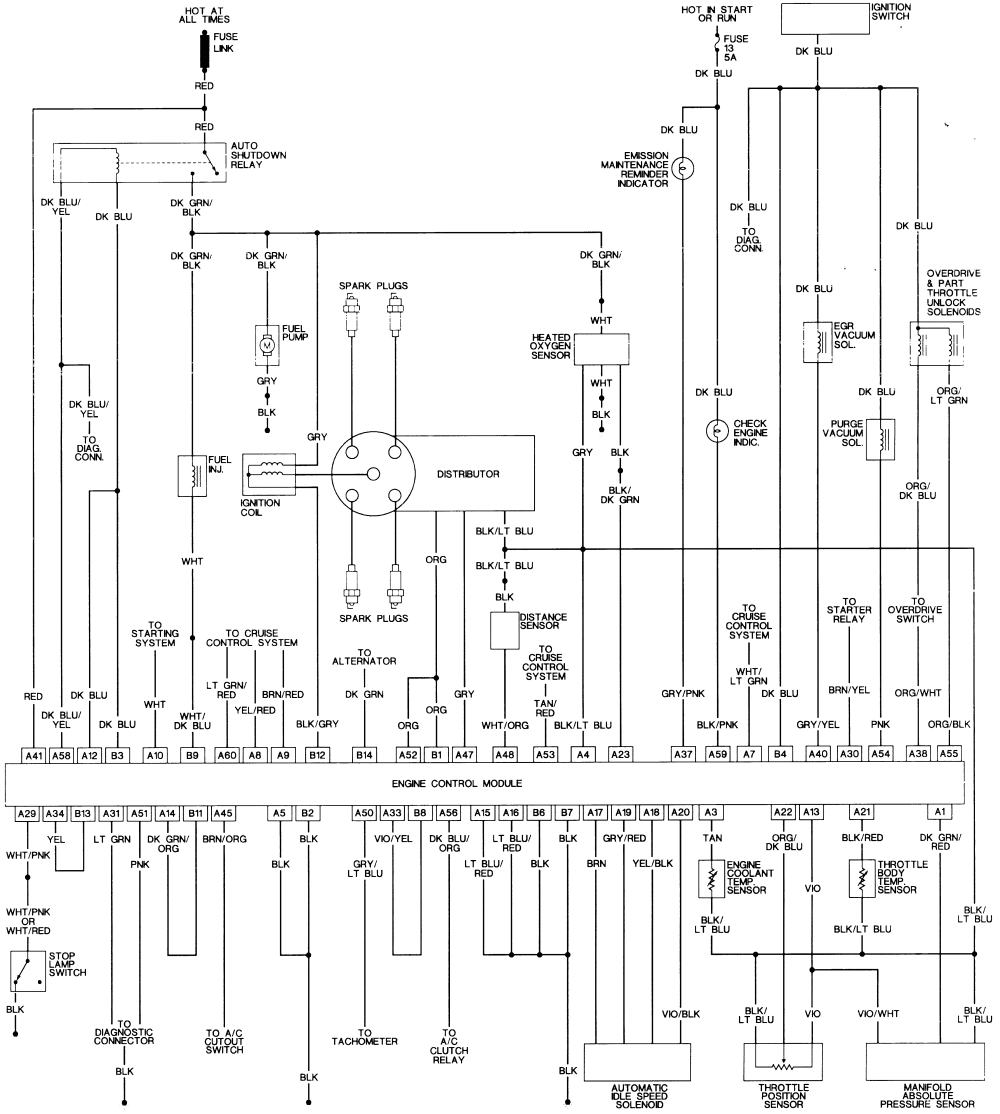 1990 dodge caravan fuel pump wiring wiring diagram mega