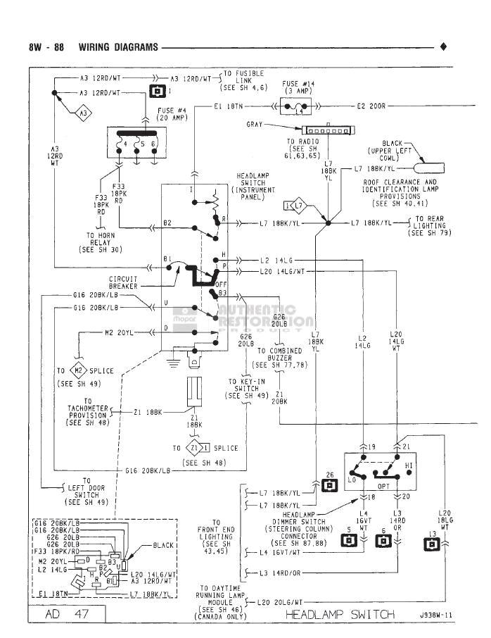 1993 dodge van wiring diagram wiring diagram technic 1993 dodge van wiring diagram