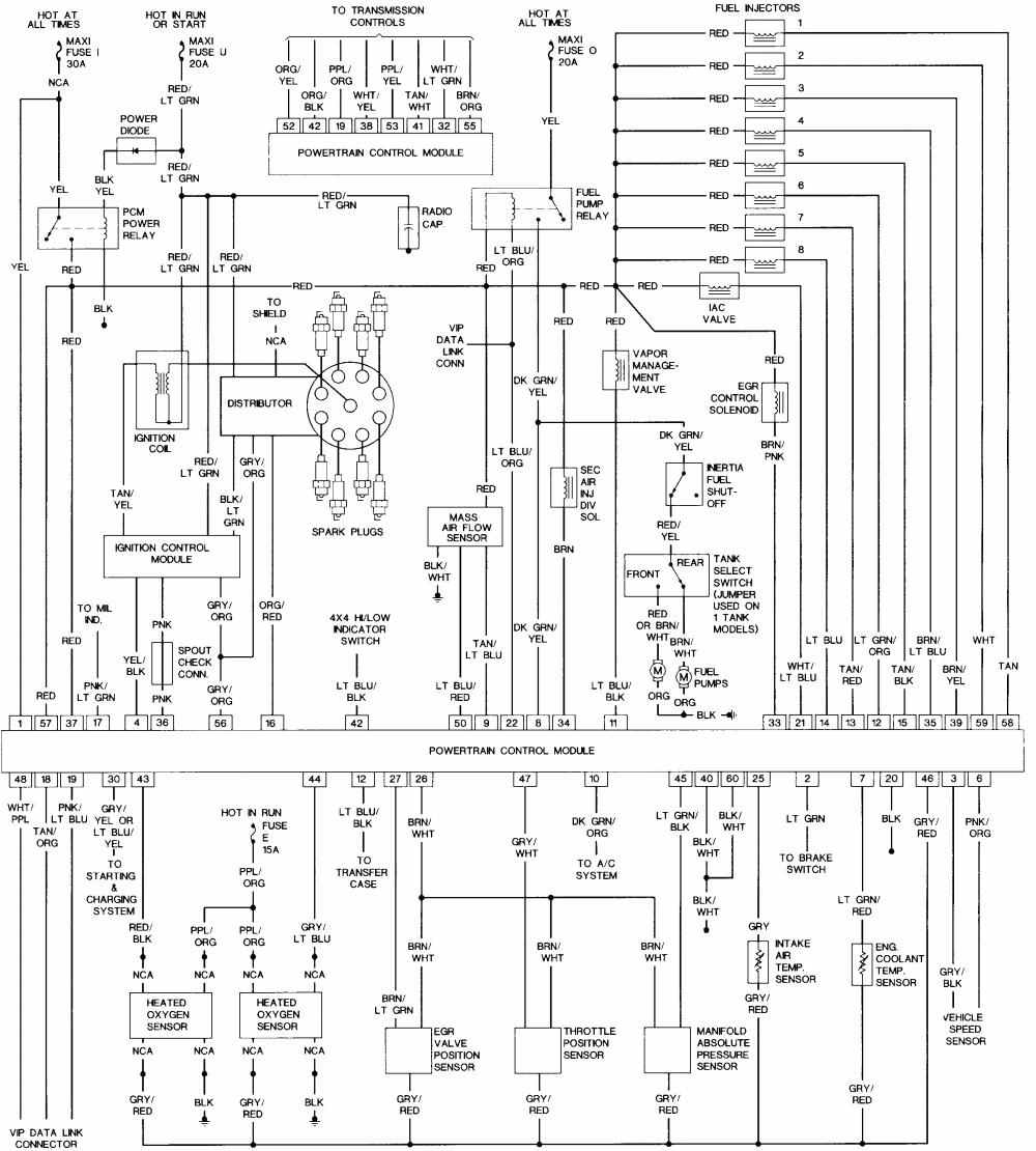 1995 Ford L8000 Wiring Diagram