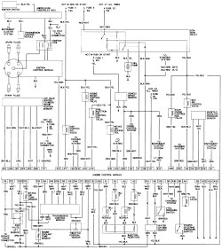 repair guides wiring diagrams wiring diagrams autozone com 94 accord stereo wiring diagram 94 accord wiring diagrams