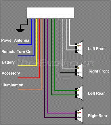 nissan radio wiring diagram