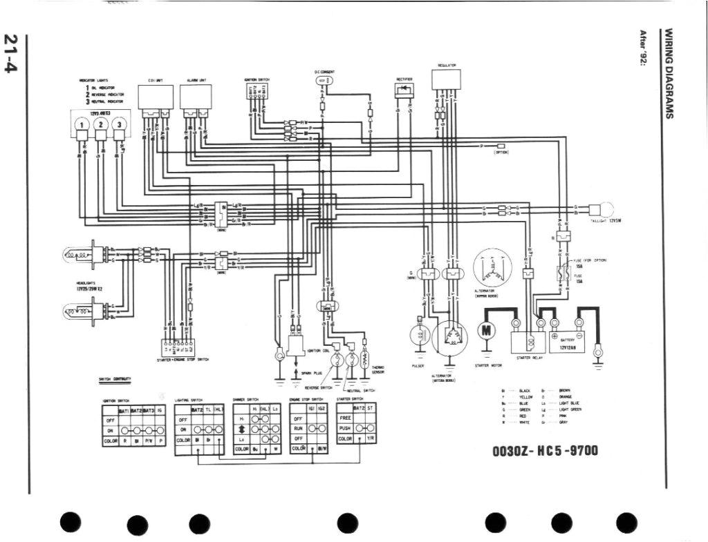 1996 honda fourtrax 300 wiring diagram awesome honda fourtrax atv wiring diagram for 85 schematics wiring