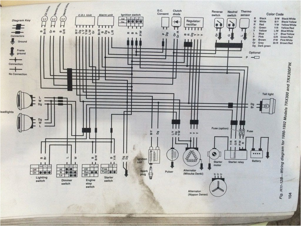 honda 300 wiring diagram 1997 wiring diagram toolbox honda fourtrax