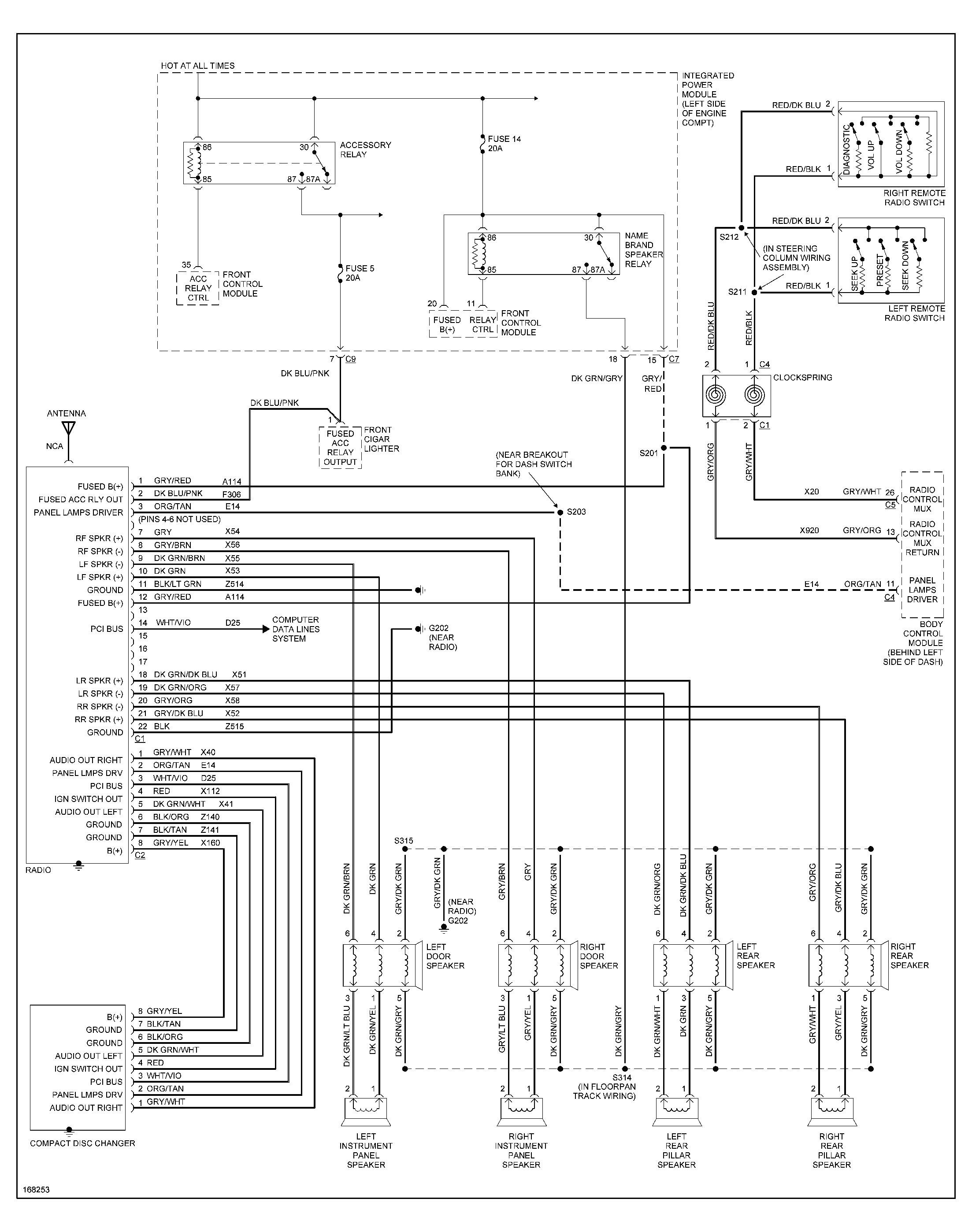 2008 dodge caravan wiring diagram wiring diagram database 1994 dodge caravan wiring diagram