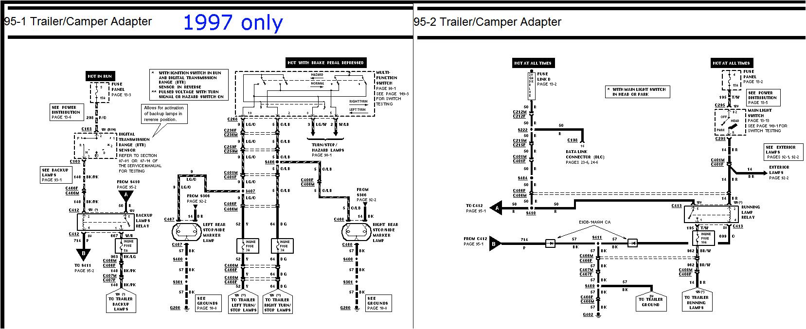 1997 ford f150 wiring diagram wiring diagram perfomance 1997 f150 radio wiring diagram 1997 f150 wiring diagram