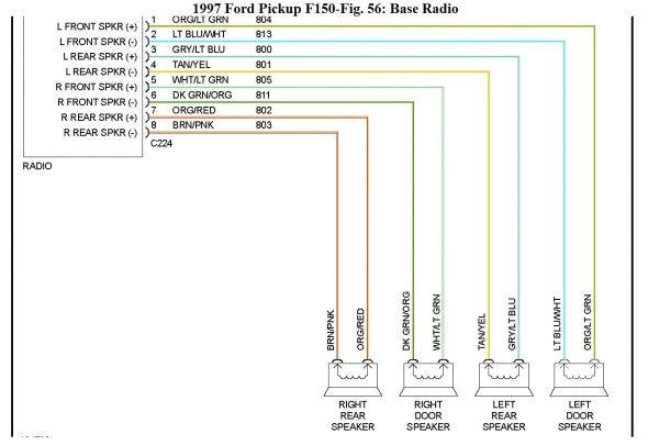 2000 ford f150 radio wiring diagram