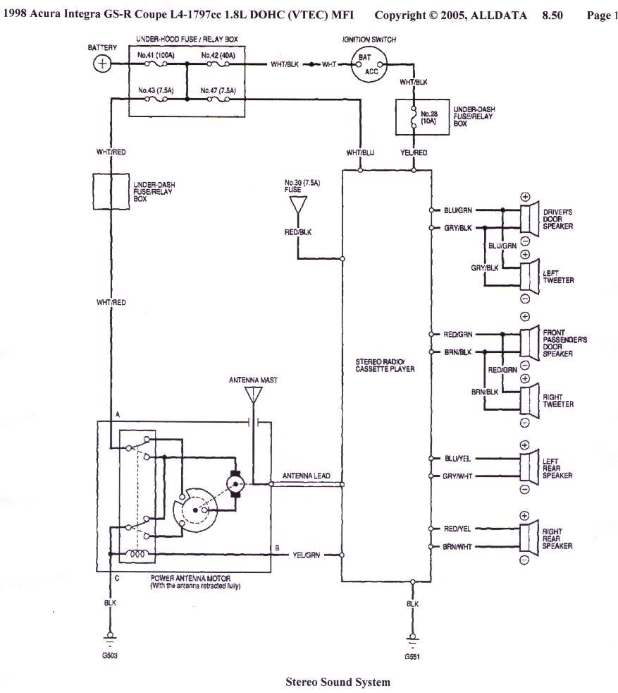 1998 acura integra distributor wiring diagram wiring diagram sample1995 acura integra distributor wiring diagram my wiring