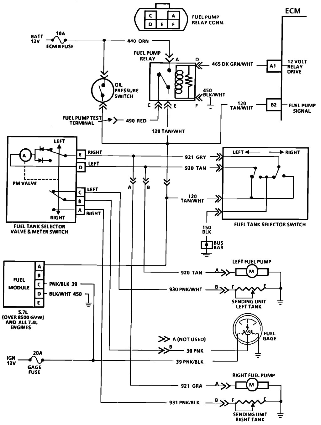 gm fuel pump wiring wiring diagram centre fuel pump relay wiring diagram gm truck