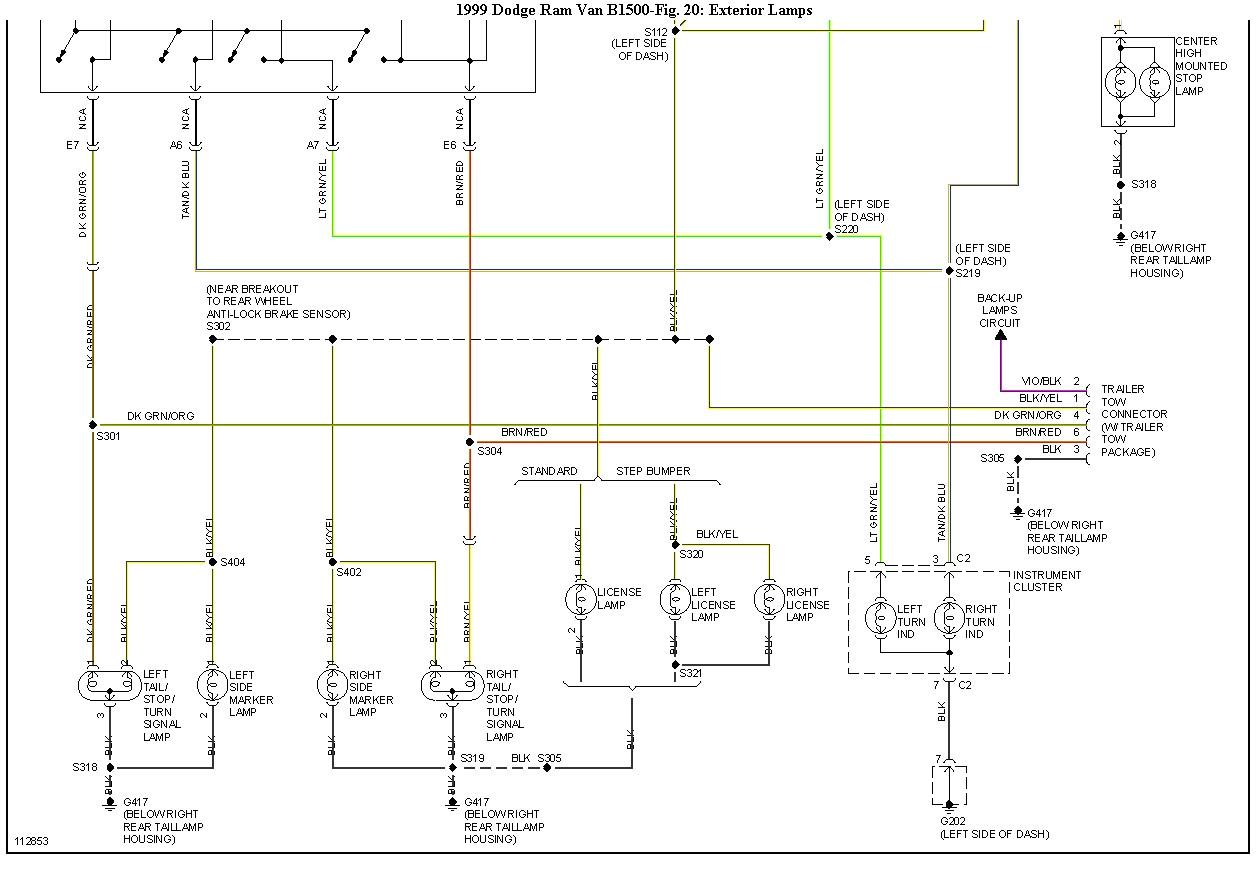 2003 dodge caravan wiring schematic marker wiring diagram 2003 dodge caravan wiring schematic marker