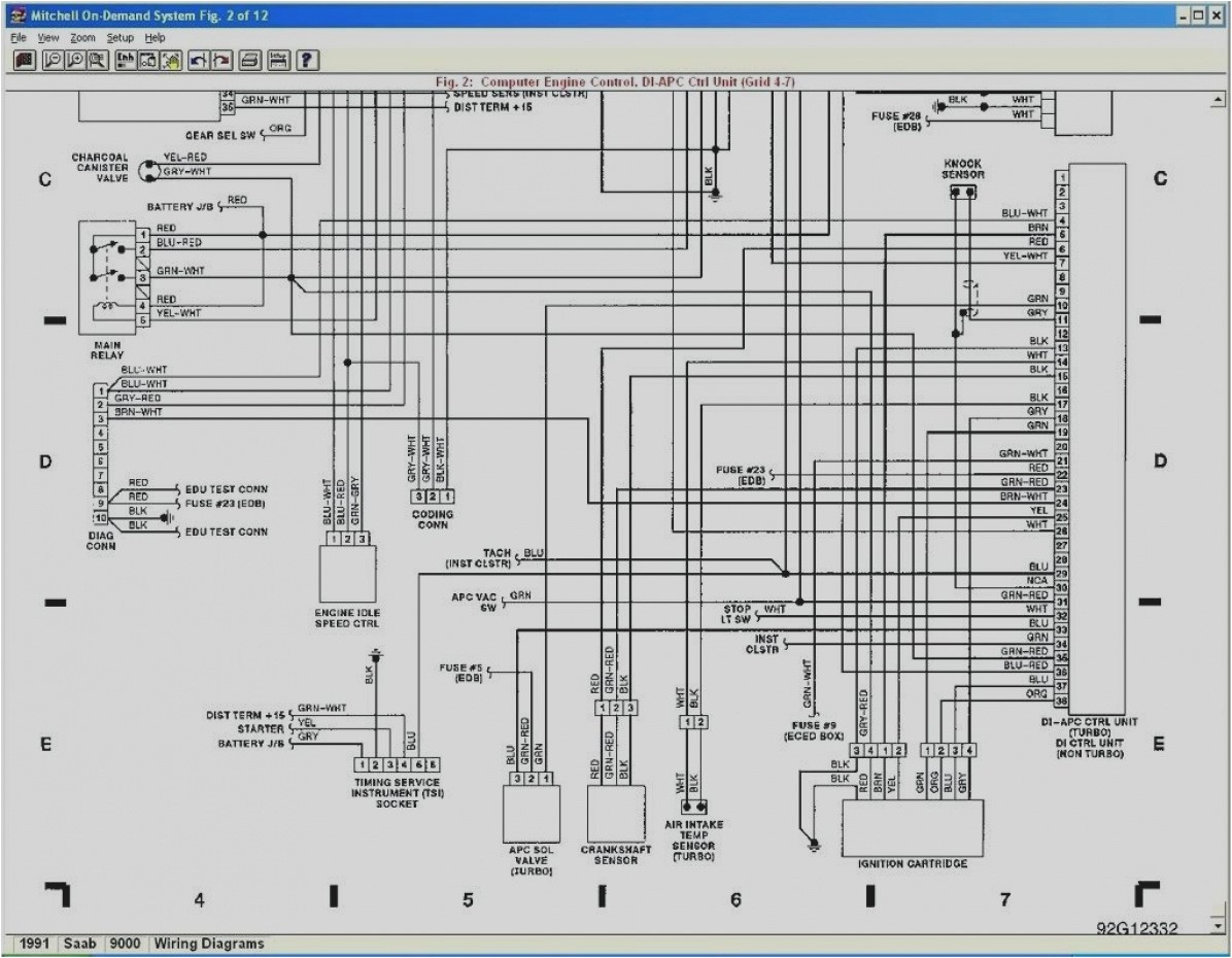 gallery of 2000 saab 9 3 wiring diagram schematics 95 diagrams home ecu with 6 jpg