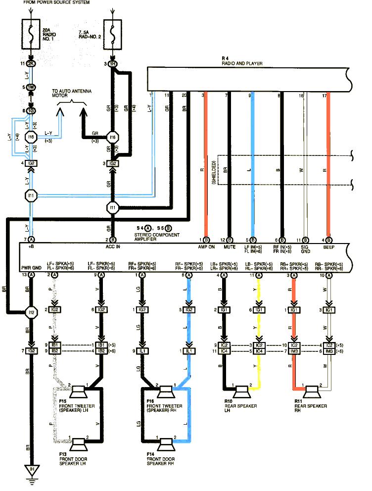 1999 toyota corolla headlight wiring diagram share circuit diagrams